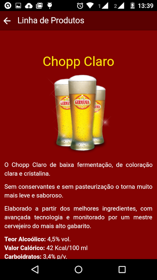 Chopp Germania Moema- screenshot