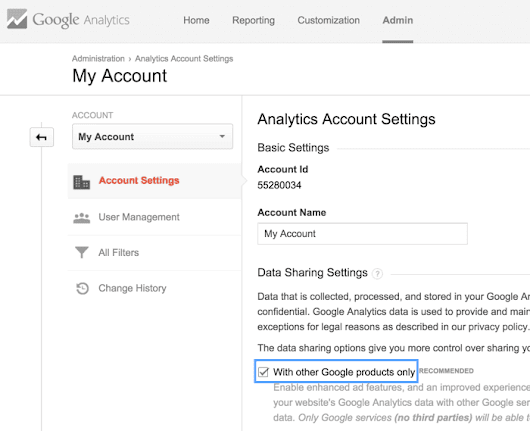 Intelligens célok - Google Analytics Súgó
