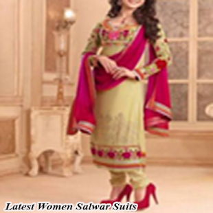 Latest Women Salwar Suits - náhled