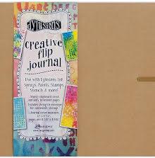 Dylusions Creative Flip Journal - 12X8.5