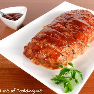 Turkey Meatloaf with Brown Sugar-Ketchup Glaze.