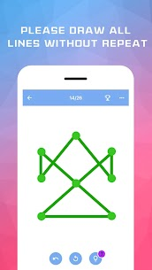 One Stroke Line Puzzle MOD (Free Shopping) 2