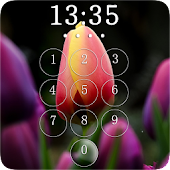 Tulips Lock Screen