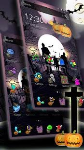 Zombie Halloween Night Theme - náhled
