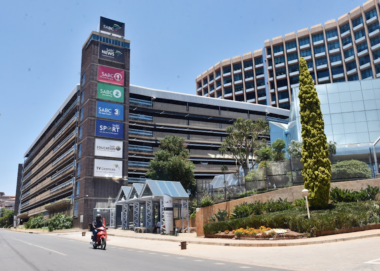 The SABC head office at Auckland Park in Johannesburg.