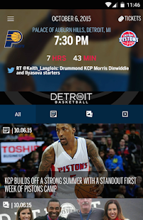 Detroit Pistons Official App- screenshot thumbnail