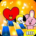 kpop Piano Tiles 21 icon
