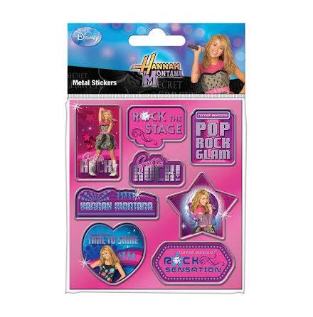 Hannah Montana - Metal - Klistermärken