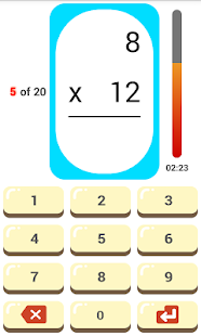 Make math fun : Math flashcard - náhled