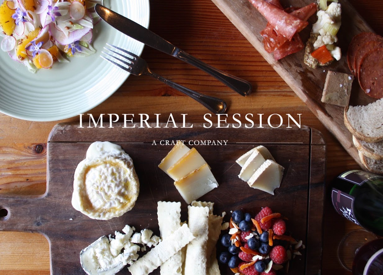Imperial Session Beer Dinner Pop Up Series
