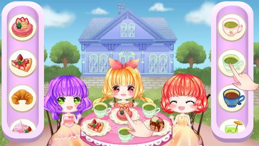 Princess Cherry Anime Care and Makeover: Tea Party 1.0 screenshots 6