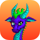 Dragon Color By Number: Pixel Art Dragon icon