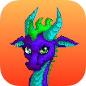 Drachen Color By Number: Pixel Art Dragon icon