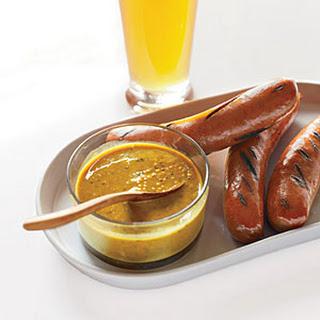 Spicy Beer Mustard.