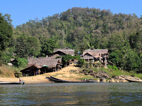 Photo: The long-neck Karen hilltribe village for tourists