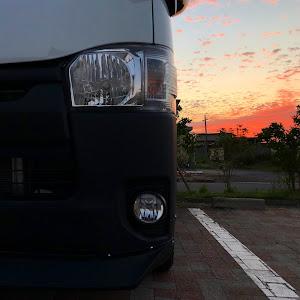 ハイエースバン TRH200V SUPER GL 2018年式のカスタム事例画像 keiji@黒バンパー愛好会さんの2018年09月05日21:00の投稿