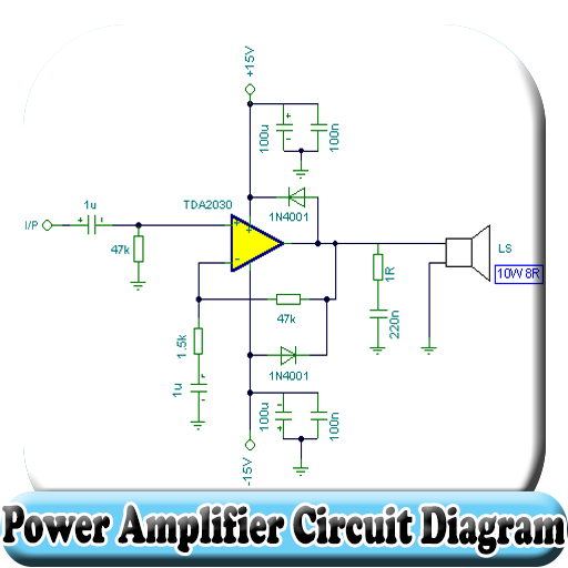 Sensational Power Amplifier Circuit Diagram Apps On Google Play Wiring Digital Resources Anistprontobusorg