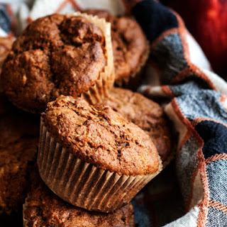 Maple Apple Rye Muffins