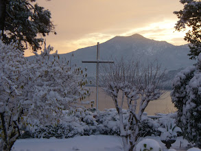 Photo: La Croce nel parco
