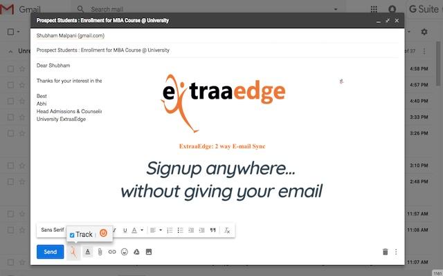 ExtraaEdge: 2 way E-mail Sync