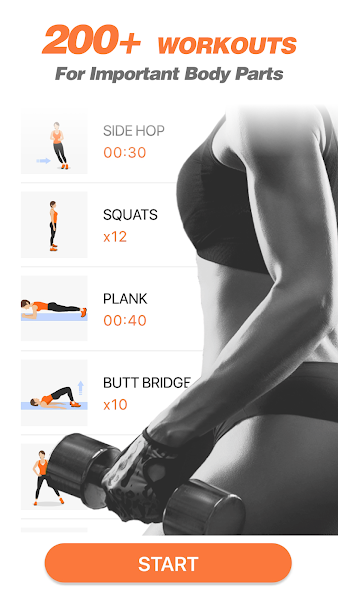 Workout for Women - Lose Weight at Home Workouts