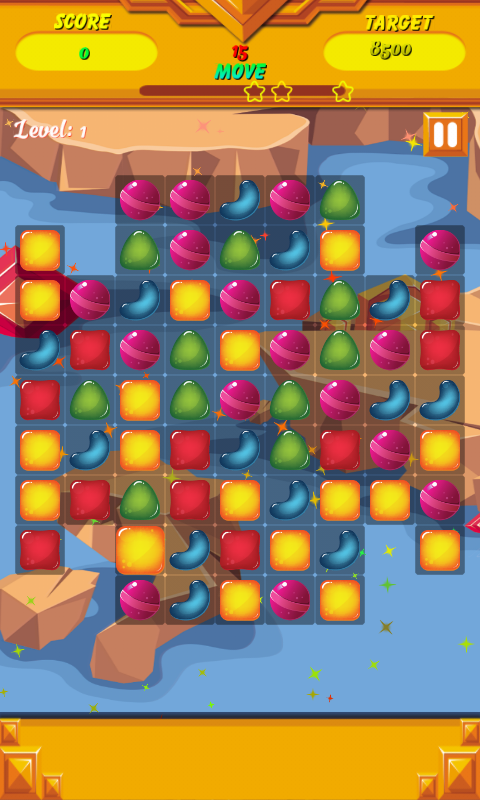 Candy Sweet Hero- screenshot