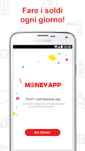 MoneyApp - DENARO FACILE soldi Screenshot