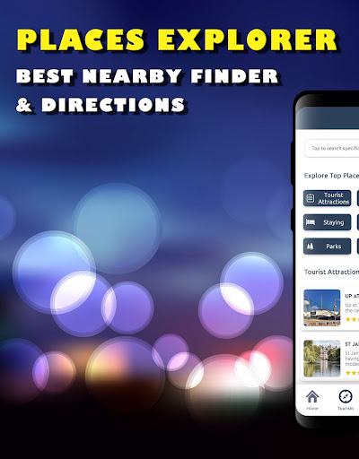 Screenshot for Places Explorer – Best Nearby Finder & Directions in United States Play Store