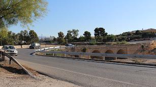 Imagen del puente de San Isidro.