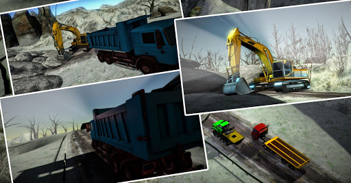 Snow Excavator 3D:Hill Station