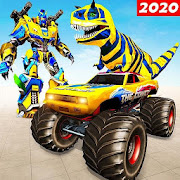 Monster Truck Transform Dino Robot