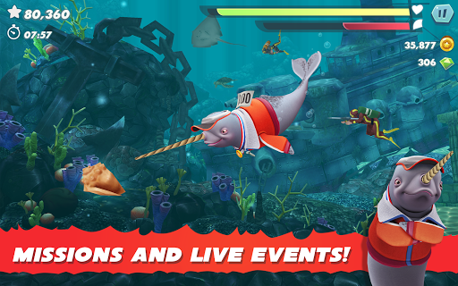 Hungry Shark Evolution apktram screenshots 13