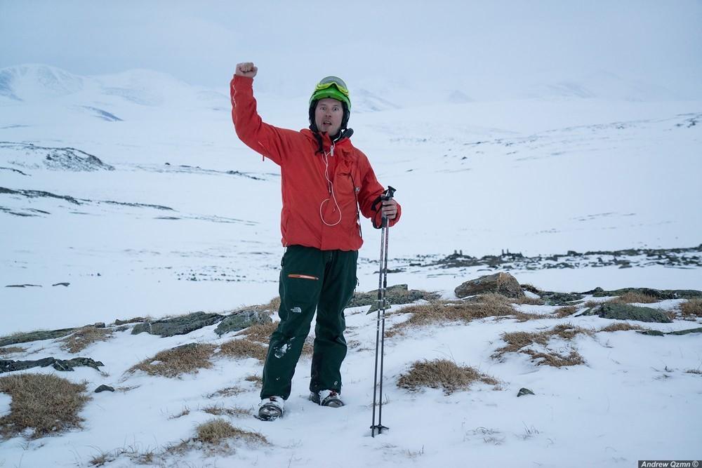 Отчёт о кайт путешествии в районе полярного Урала