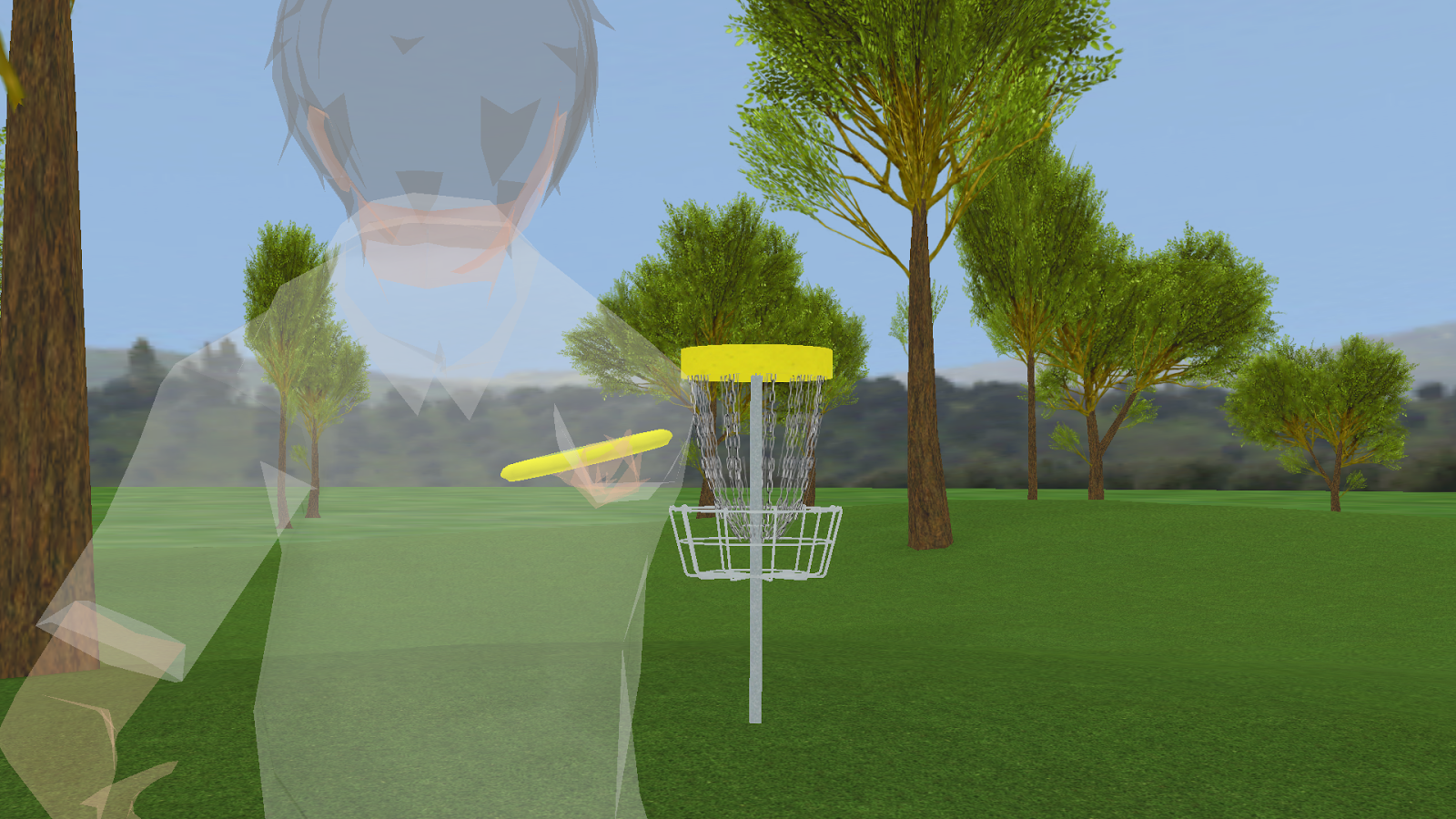 Disc Golf Game Range- screenshot
