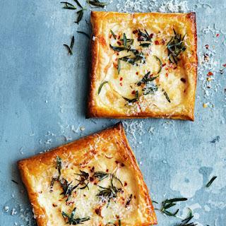Three-cheese, Potato And Rosemary Tarts.