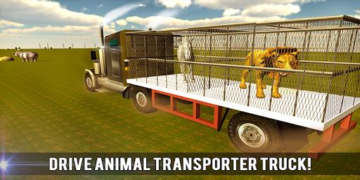 野生動物輸送列車の3D