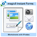 Worksheet with Photos icon