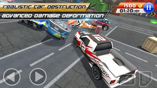 BREAKNECK DEMOLITION DERBY : FREE CAR GAMES - náhled