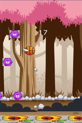 Télécharger Flying Basketball mod apk screenshots 4