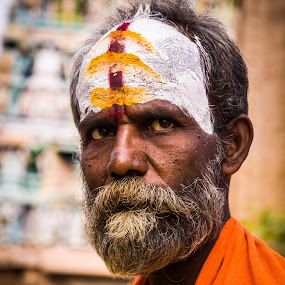 Indian God's People by Eb Jai - People Portraits of Men