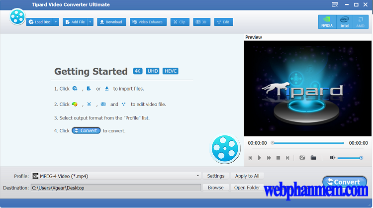 Tipard Video Converter Ultimate Free Download