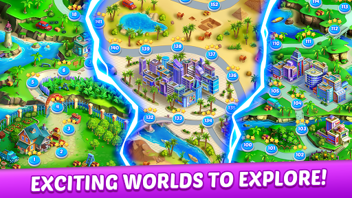 Fruit Genies - Match 3 Puzzle Games Offline apkslow screenshots 8