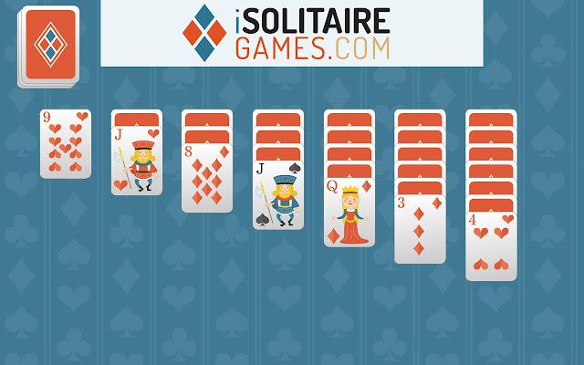 klondike 3 card flip solitaire