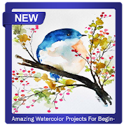 Amazing Watercolor Projects For Beginners icon