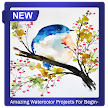 Amazing Watercolor Projects For Beginners APK