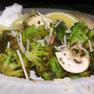 Delicious Broccoli and Mushroom Saute