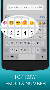 Emoji Keyboard Cute Emoticons screenshot