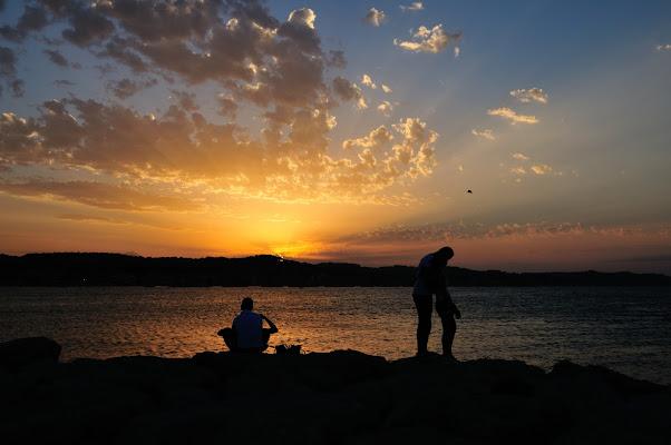Baci al tramonto di Luporosso