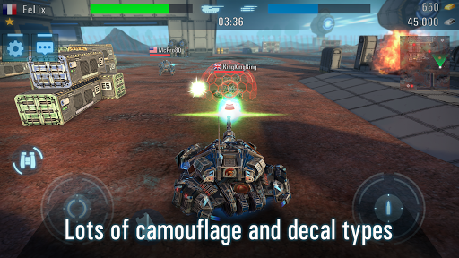 Tanks VS Robots: Real Steel War Robots and Tanks - screenshot