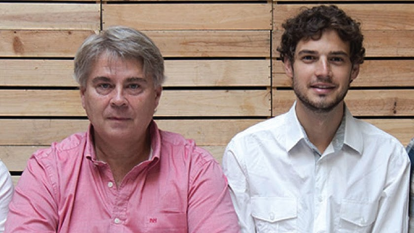 Guillermo Herrero y Enrique Cat,  cofundadores de Nostoc Biotech.